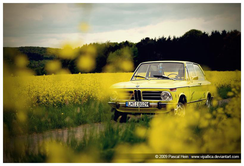 Beauty shot of Pascal's 1973 BMW 1802 Touring