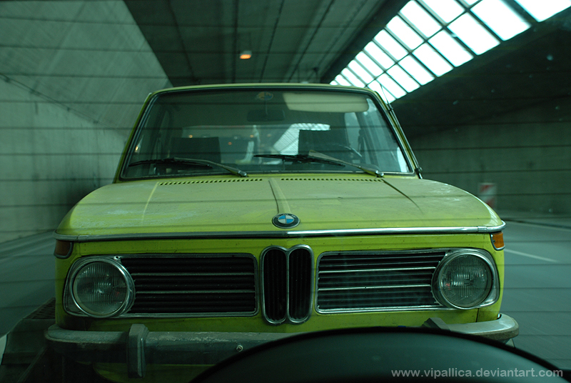 Pascal's 1973 BMW Touring 1802 is in need of some repair