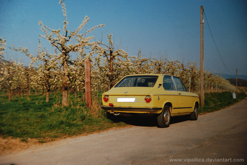 Pascal Hein's BMW 1802 Touring in 1990 in Germany