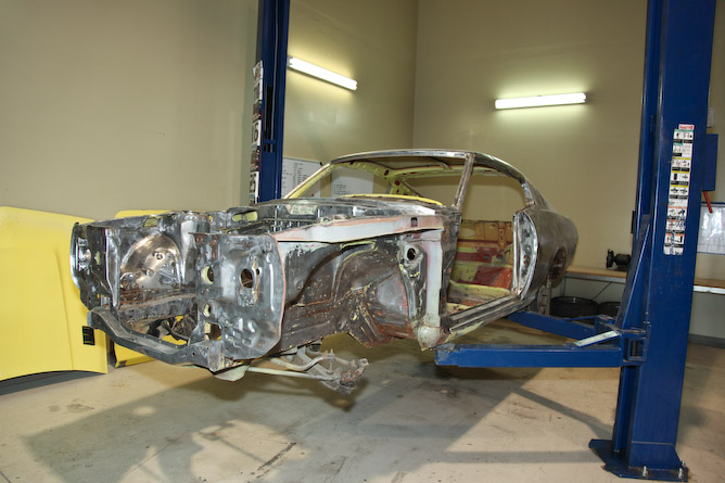 1977 Celica down to bare metal at JDMLegends