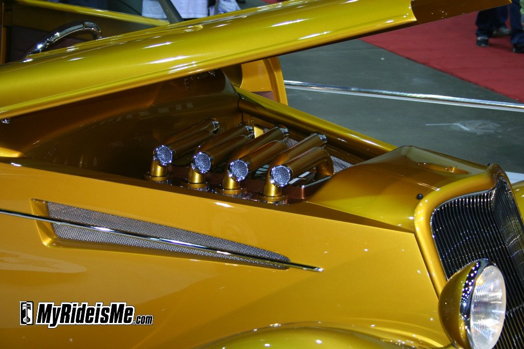 2010 Ridler Award Winner Engine picture, photo, pic, Detroit Autorama