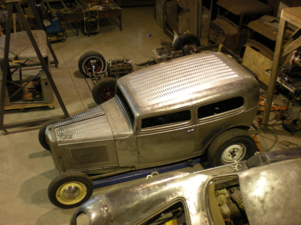 Livin' the dream building a '32 Sedan in traditional hot rod style