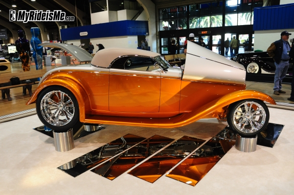 Chip Foose built 2010 AMBR Contender - hot rods, Grand National Roadster Show