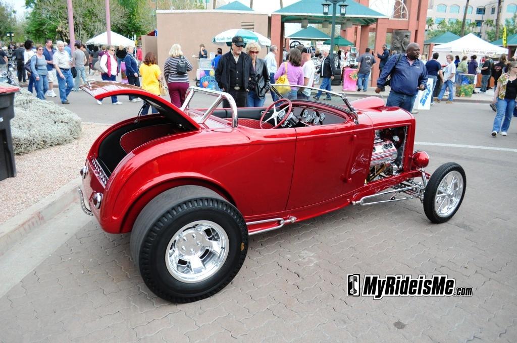 1932 Ford Roadster duece ardun head Chandler Arizona Car Show