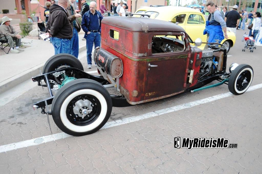 Rat Rod, hot rods, pickup, quickchange Chandler Arizona Car Show