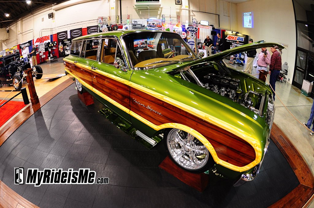 1963 Ford Falcon Squire Wagon 2010 GNRS class award winner