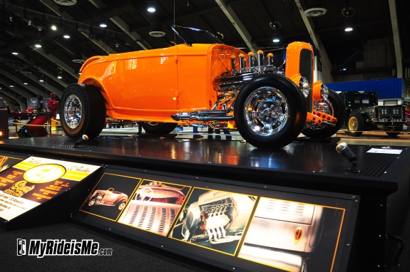 Grand National Roadster Show Hot Rod- Squeeg's Kustom America's Most Beautiful 2 Roadster