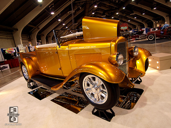 Grand National Roadster Show Hot Rod pickup America's Most Beautiful Roadster