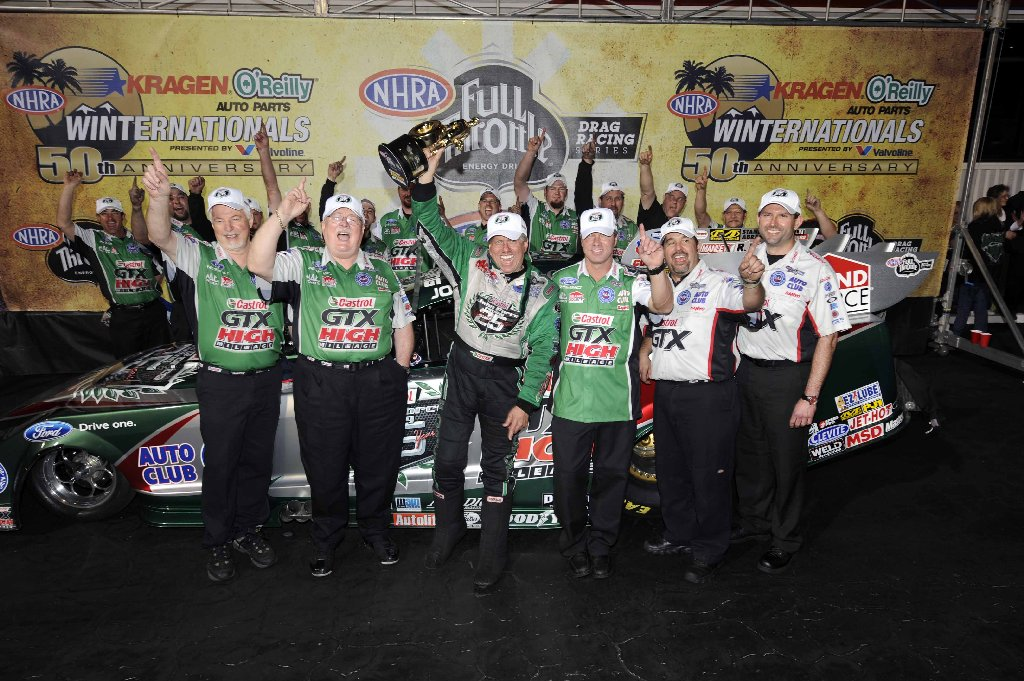 John Force, NHRA, Winternationals, Pomona, drag racing, funny car