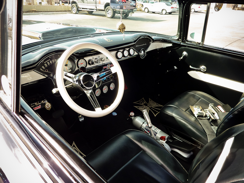 Super sano Gasser interior is immaculate