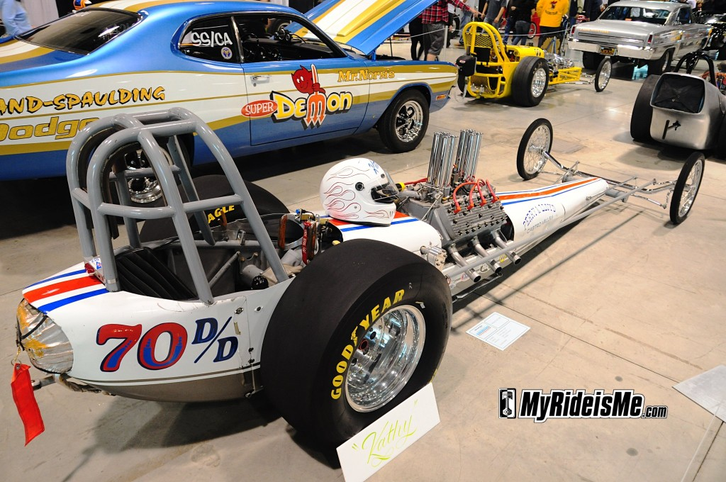 Flathead, nostalgia dragster, fed, drag racing, injected