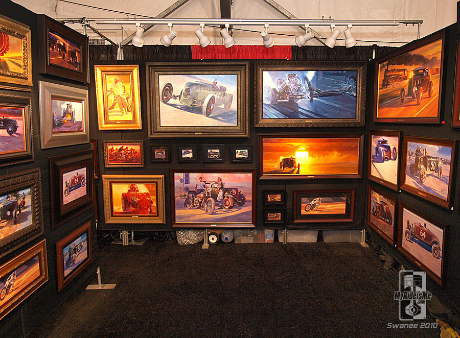 Hot Rod Artist - painter, nostalgia drag racing Paintings