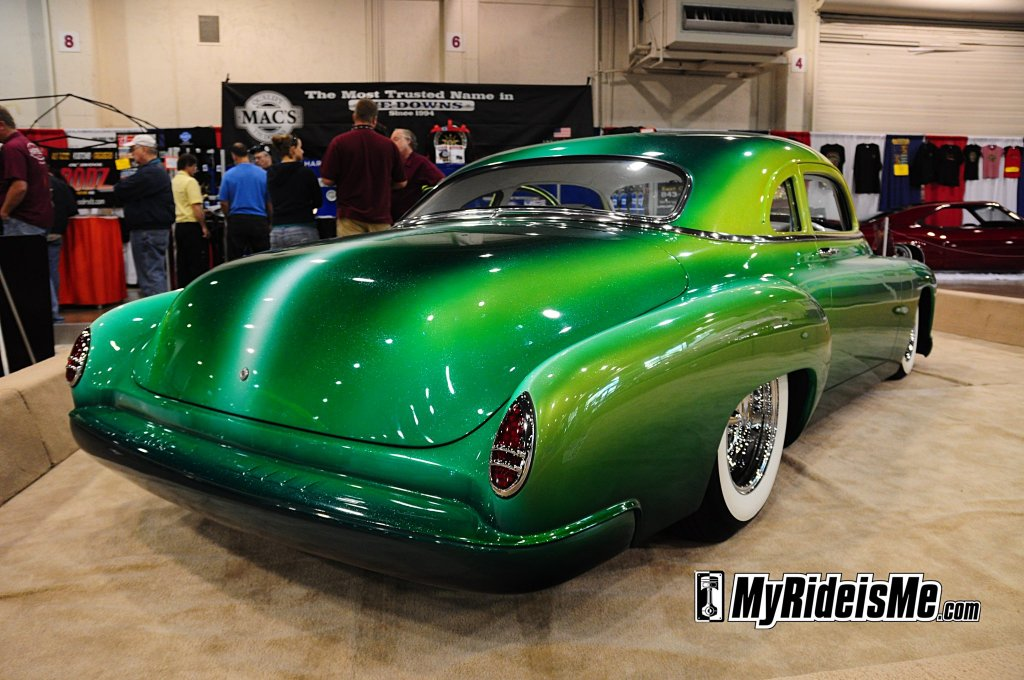 Green 1952 Chevrolet Coupe George Barris Award 2010 Grand National Roadster Show
