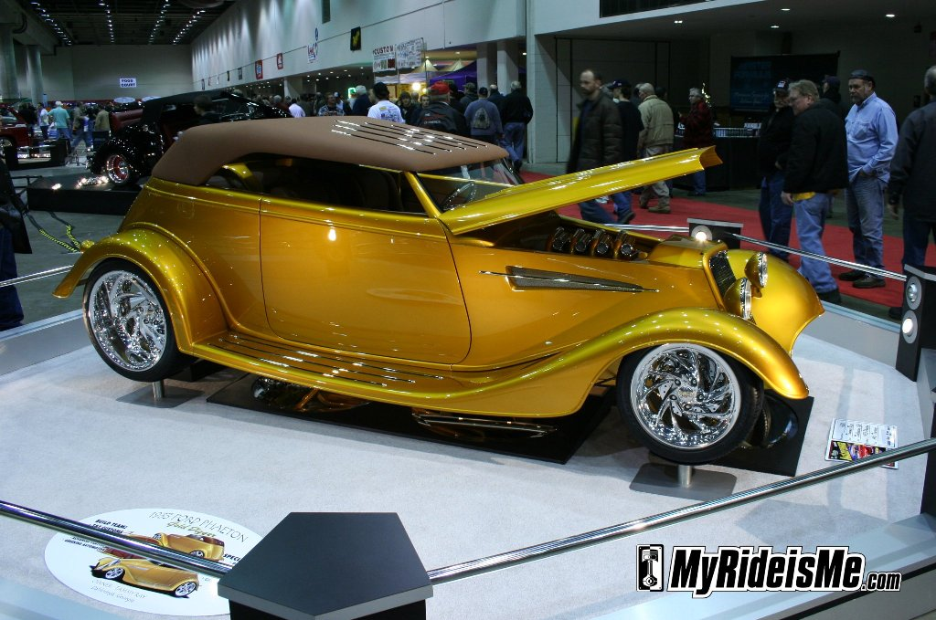 "2010 Detroit Autorama Great Eight Contender ""Gold Digger"" cobo"