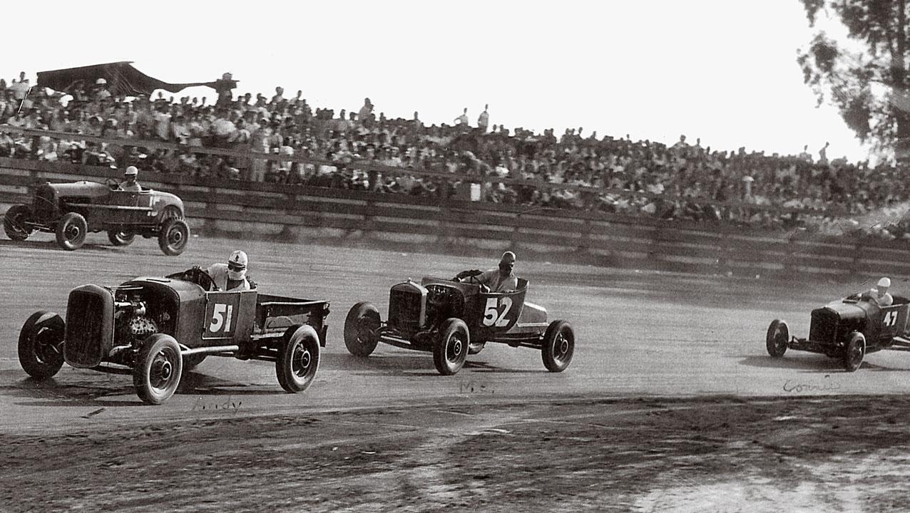 Gardena Raceway September 1946