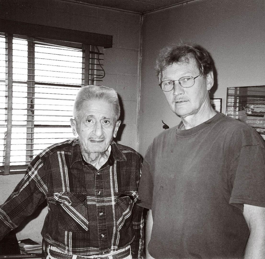 Paul D. Smith author and Barney Navarro, Merchant of Speed