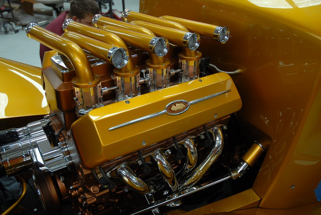 hot rod fuel injection ridler winner engine