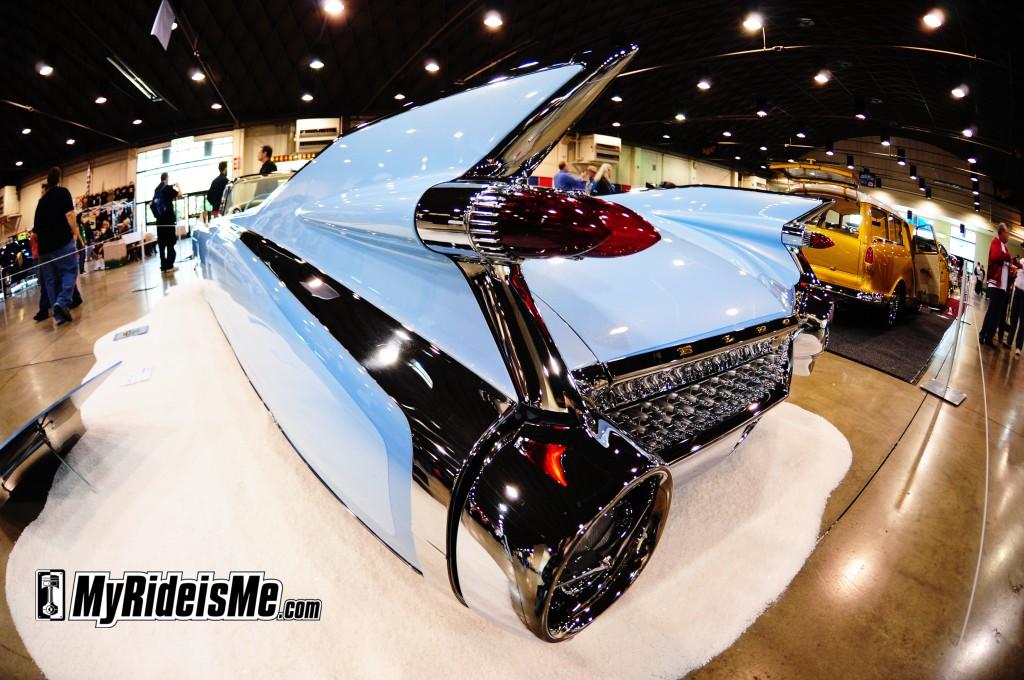 caddy,kustom 1959 Cadillac Eldorado Biarritz Convertible Custom tail fins