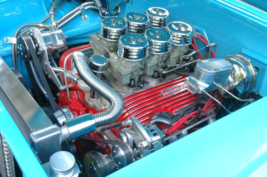 1959 Chevy Impala six pack 409