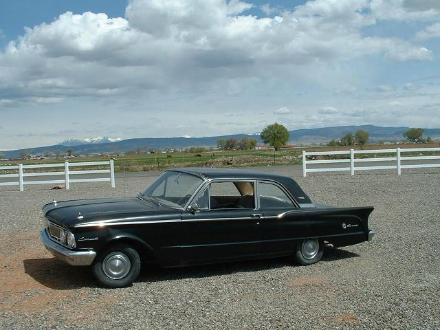 1961 comet before photo, factory stock condition