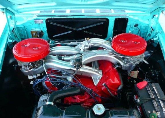 1961 Dodge Seneca 413 Max Wedge Sedan Engine