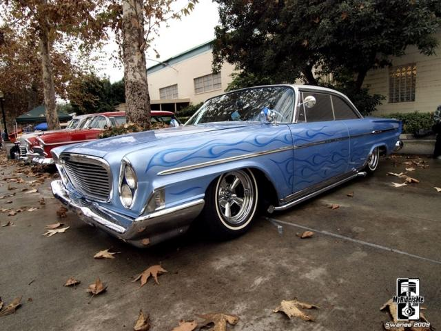 This 1962 Chrysler Newport at GNRS is a unique make/model for a Kustom