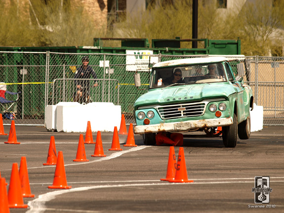 pickup racing Autocross custom car show