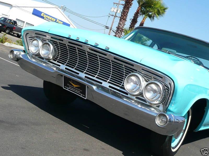 1961 Dodge Seneca front end looks docile