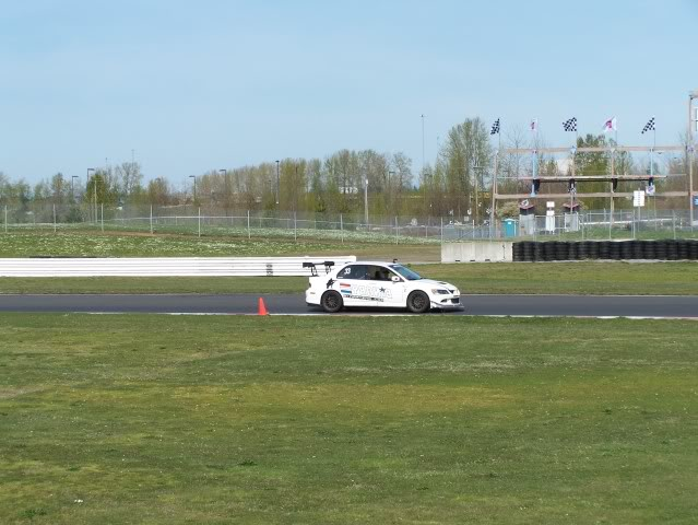 Binary Engineering Evo at the race track