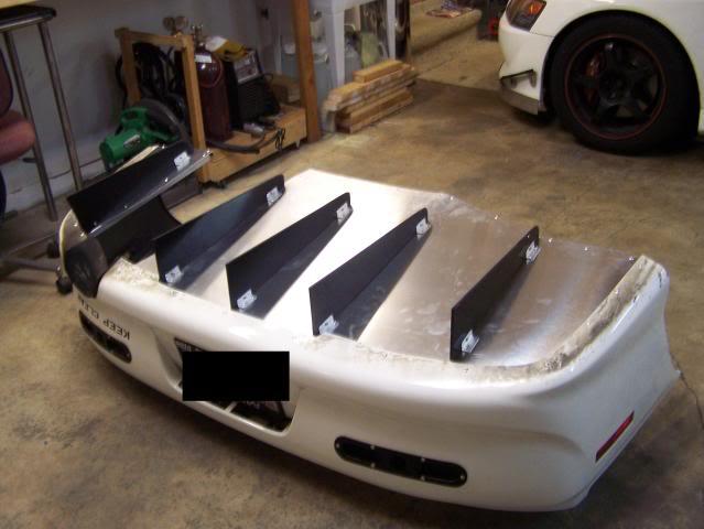 Diy rear diffuser