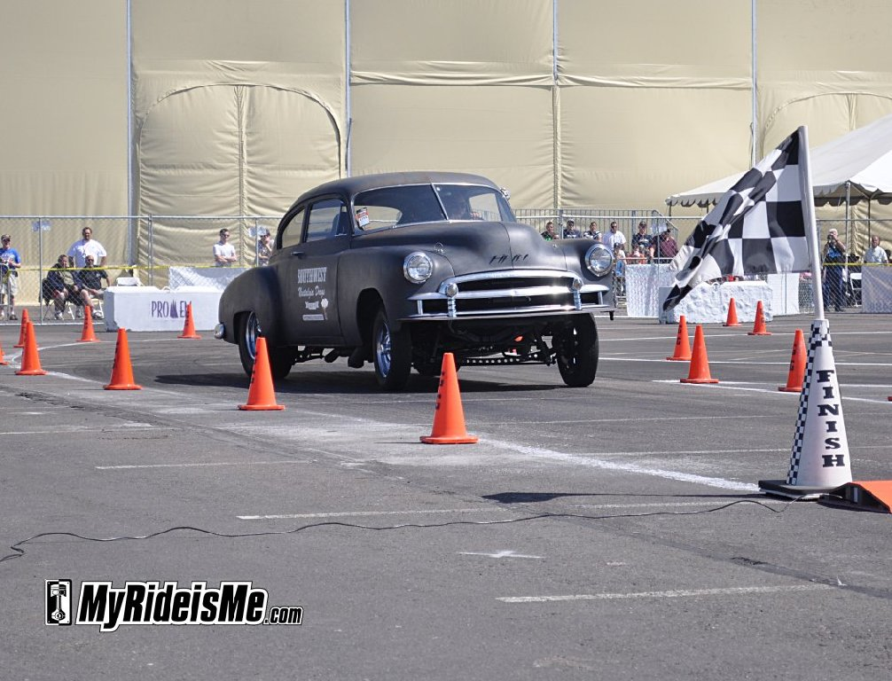 Googduys hot rod gasser Autocross straight axle drag race