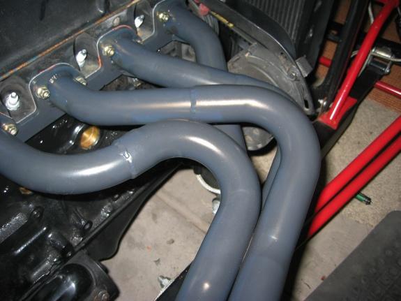 hot rod header install how-to ceramic coating