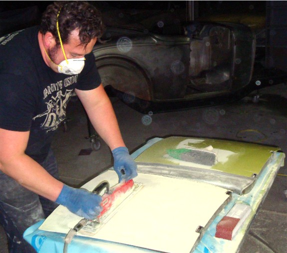 platinum bomb bodywork matthew means department of customz custom hot rod how-to paint chrome