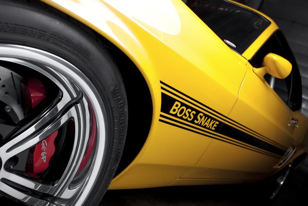 Intro Wheels and Boss Snake logo