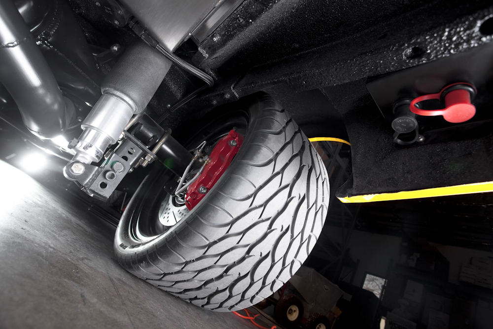 """Ride Tech suspension featuring Chris Alston components and 14"""" rotors"""