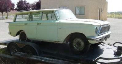 1961 Rambler American project, concept,