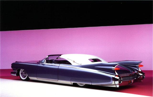 1959 Cadillac Eldorado Elvis 1 d'agostino, custom, kustom
