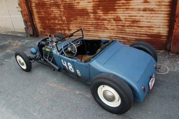 1926 T roadster hot rod in Sapporo, Japan