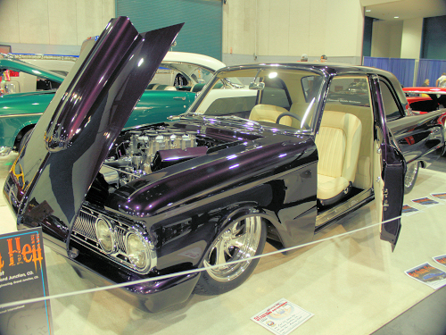 1961 Mercury Comet at the famous Fresno Autorama by invitation only