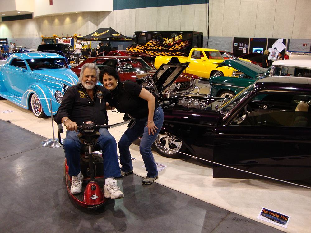 Blackie Gejeian and Kathy Jones' 1961 Comet at Fresno Autorama
