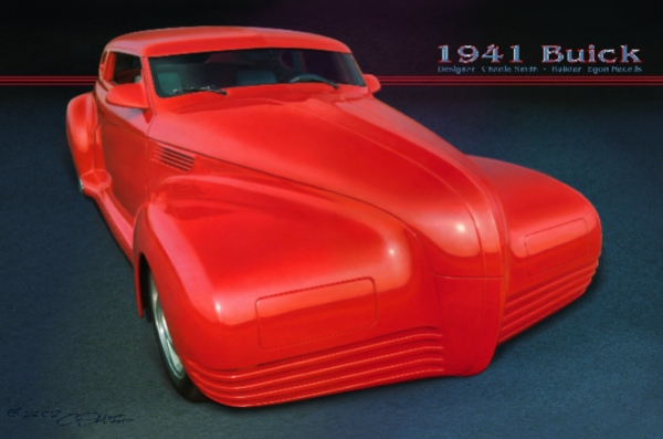 Egon-Buick design concept hot rod artist Charlie Smith