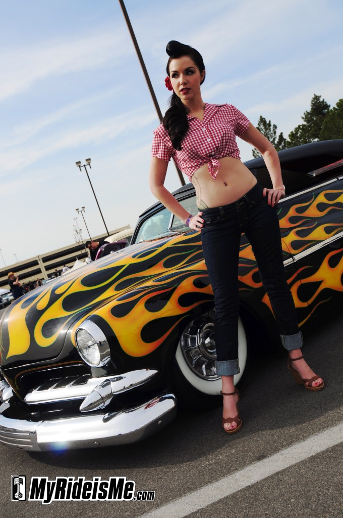 Hot rod pinups, Viva Las Vegas, girls, VLV 2010, 13, rockabilly