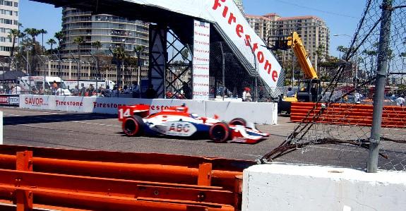 IZOD Indycar Series Race at Long Beach Grand Prix