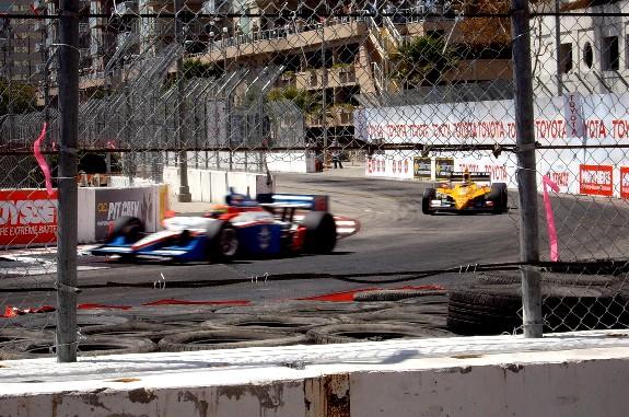 IZOD Indycar Series Race at 2010 Grand Prix of Long Beach