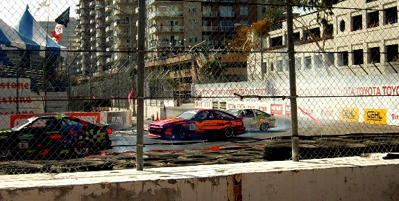 Drifting at 36th Grand Prix of Long Beach