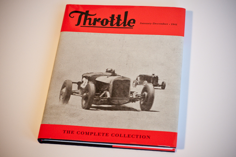 Throttle Magazine reprint book by The Rodder's Journal