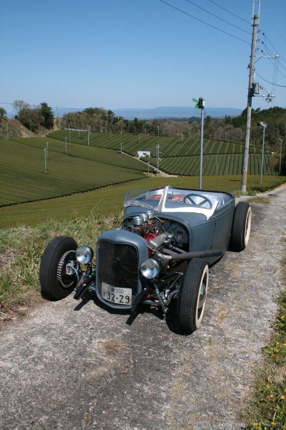 Trident Speed Shop's model A roadster hot rod