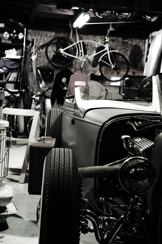 Trident Speed Shop's Ford roadster of Nara Prefecture, Japan