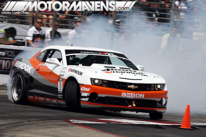 Conrad Grunewald, Formula drift, Camaro, Forumla, Long Beach, 2010