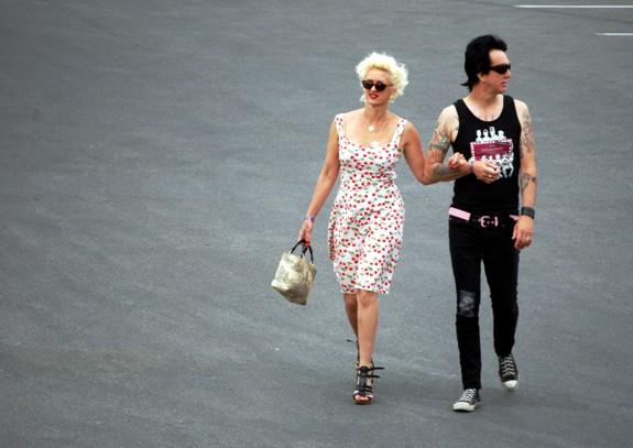 Punk Rock Couple at VLV 13 Rockabilly Weekender  viva las vegas 2010 people